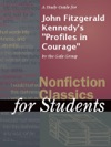 A Study Guide For John Fitzgerald Kennedys Profiles In Courage
