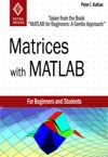 Matrices With MATLAB Taken From MATLAB For Beginners A Gentle Approach