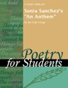 A Study Guide For Sonia Sanchezs An Anthem