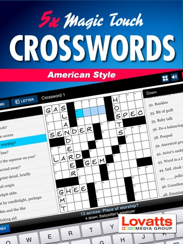 Magic Touch Crosswords American Style
