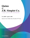 Quinn V JR Simplot Co