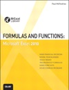 Formulas And Functions Microsoft Excel 2010