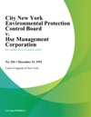 City New York Environmental Protection Control Board V Hsc Management Corporation