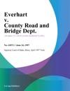 Everhart V County Road And Bridge Dept