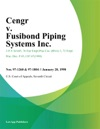 Cengr V Fusibond Piping Systems Inc