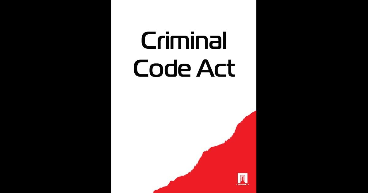 Criminal Code Act by Australia on iBooks