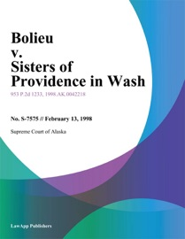 BOLIEU V. SISTERS OF PROVIDENCE IN WASH