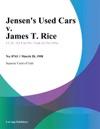 Jensens Used Cars V James T Rice