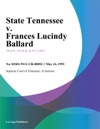 052493 State Tennessee V Frances Lucindy Ballard