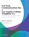 Cel-Tech Communications Inc V Los Angeles Cellular Telephone Co