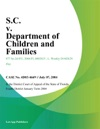 SC V Department Of Children And Families
