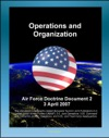 Air Force Doctrine Document 2 AFDD 2 Operations And Organization - USAF Air And Space Operations War Strategy Effects-Based Operations EBO Air Expeditionary Wing AEW