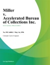 Miller V Accelerated Bureau Of Collections Inc