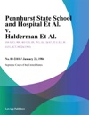 Pennhurst State School And Hospital Et Al V Halderman Et Al