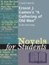A Study Guide For Ernest J Gainess A Gathering Of Old Men
