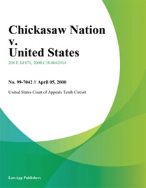CHICKASAW NATION V. UNITED STATES