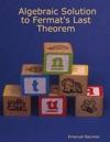 Algebraic Solution To Fermats Last Theorem