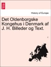 Det Oldenborgske Kongehus I Denmark Af J H Billeder Og Text