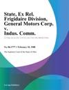 State Ex Rel Frigidaire Division General Motors Corp V Indus Comm