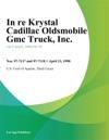 In Re Krystal Cadillac Oldsmobile GMC Truck Inc