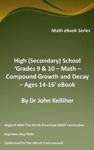 High Secondary School Grades 9  10 - Math  Compound Growth And Decay  Ages 14-16 EBook