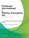 Penthouse International V Playboy Enterprises Inc