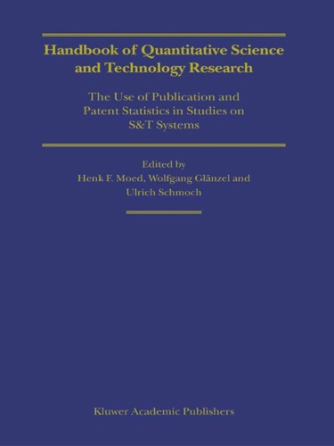Handbook of Quantitative Science and Technology Research