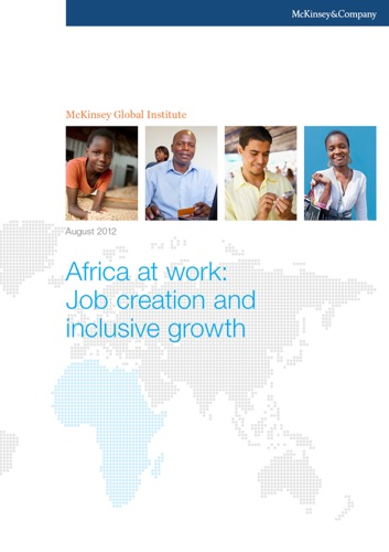 Africa at Work Job Creation and Inclusive Growth