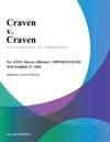 Craven V Craven