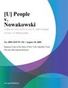 U People V Nowakowski
