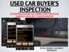 Used Car Buyers Inspection
