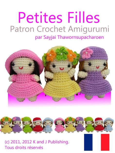 Petites Magazine Amigurumi : Petites Filles Patron Crochet Amigurumi de Sayjai ...