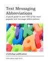 Text Messaging Abbreviations