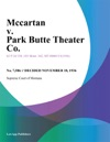 Mccartan V Park Butte Theater Co