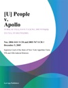 U People V Apollo
