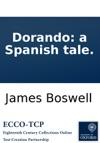 Dorando A Spanish Tale