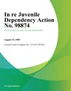 In Re Juvenile Dependency Action No 98874