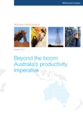 Beyond the boom: Australia's productivity imperative