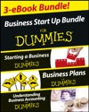 Business Start Up For Dummies Three E-book Bundle Starting A Business For Dummies Business Plans For Dummies Understanding Business Accounting For Dummies