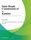 State Roads Commission Of V Kamins