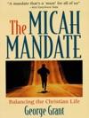 The Micah Mandate