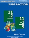 Subtraction Flash Cards Subtraction Facts With Critters