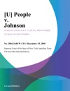 U People V Johnson