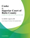 Cooke V Superior Court Of Butte County