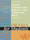 A Study Guide For Jerome Lawrence And Robert E Lees Inherit The Wind