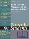 A Study Guide For Bette Greenes Summer Of My German Soldier
