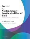 Porter V Norton-Stuart Pontiac-Cadillac Of Enid