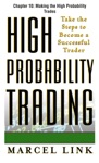 High-Probability Trading Chapter 10 - Making The High Probability Trades