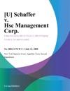 U Schaffer V Hsc Management Corp