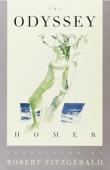 The Odyssey - Robert Fitzgerald & Homer Cover Art